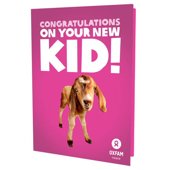 Congratulations on your new KID (Girl)