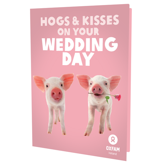 HOGS & KISSES on Your Wedding Day