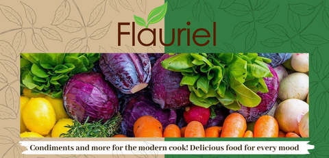 Fresh produce utilized by Flauriel Foods in production of its products