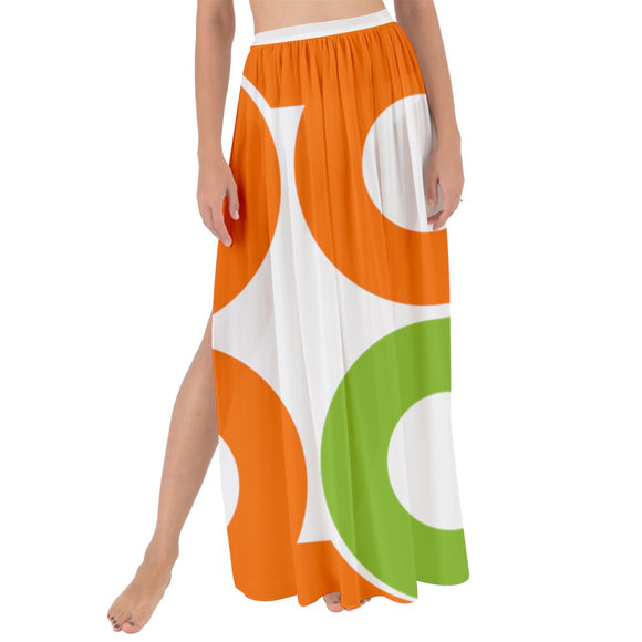Lucky Day Club Maxi Chiffon Tie-Up Sarong