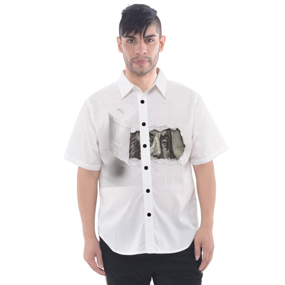 MONEY Men's Short Sleeve Shirt