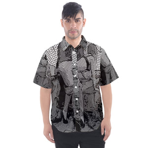 Provocative Men's Short Sleeve Shirt