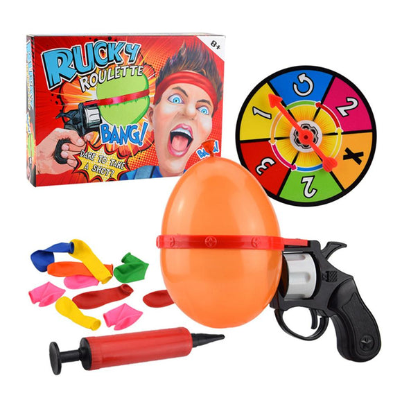 Russian Roulette Party Game Turntable Balloon Set