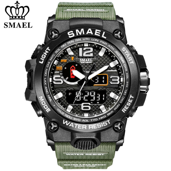 SMAEL Fashion Men Watches Waterproof