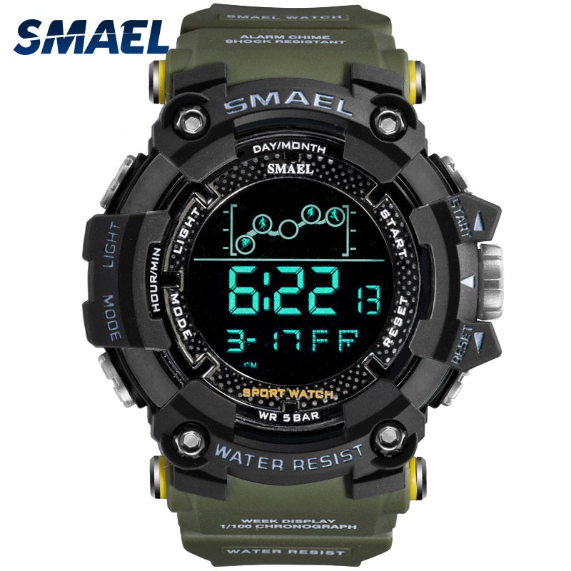 SMAEL Military Water Men's Watch