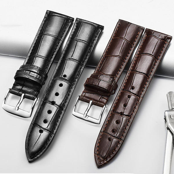 DOM Genuine Leather Watchband for Men Women Watch