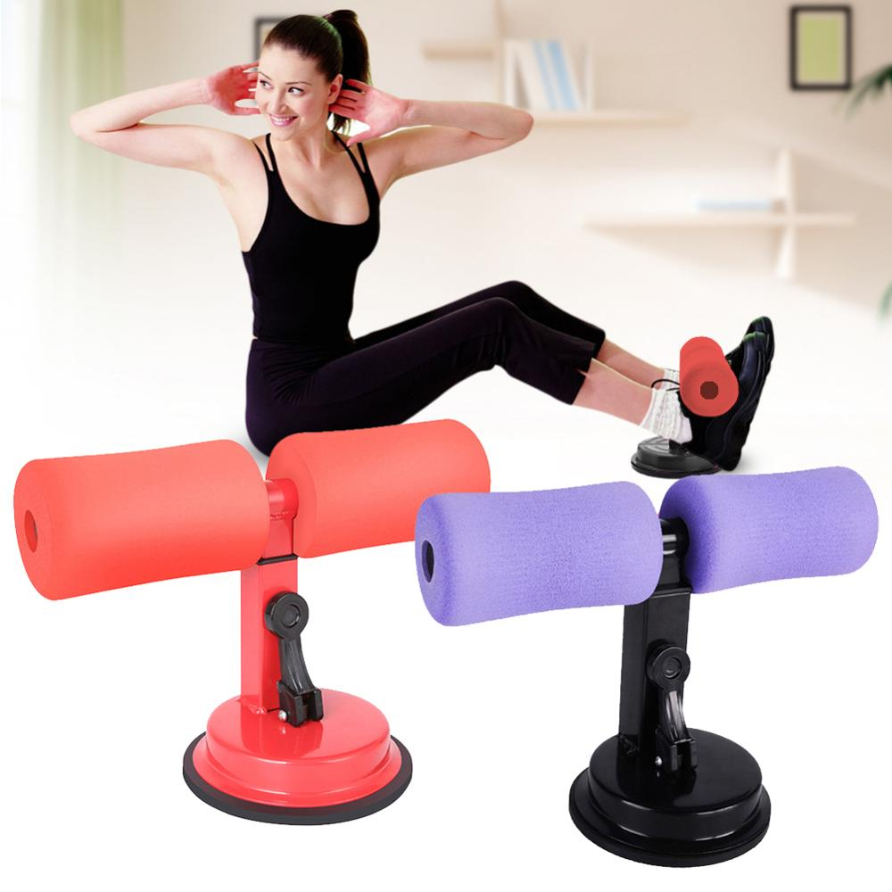 Self-Suction Sit Up Bars Abdominal Core Workout Strength Training Adjustable Sit up Assist Bar Stand Fitness Equipment For Home