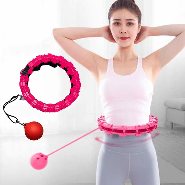 Smart Sport Ring Detachable Adjustable Auto-Spinning Circle Thin Waist Abdominal Exercise Gym Fitness Equipment Home Training