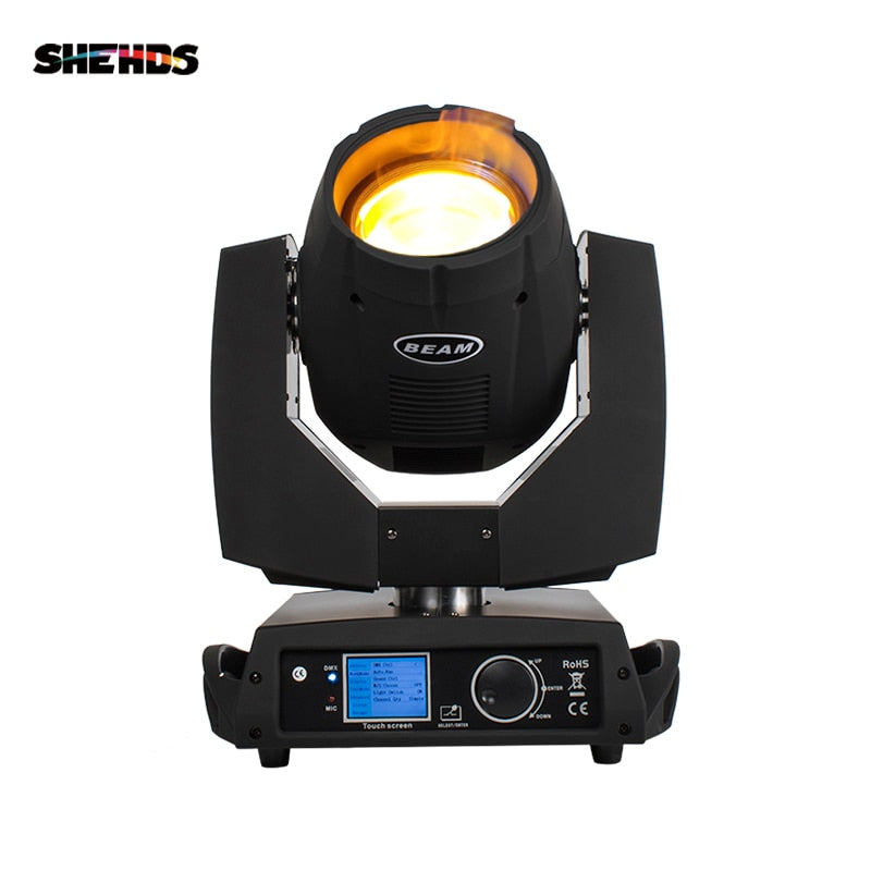 SHEHDS DJ Lights Flight case and Beam 7R Moving Head Light Controler Dj Projector Disco Ball Party Stage  Control with DMX