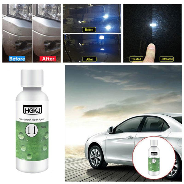 New HGKJ-11-50ml Car Polish Paint Scratch Repair Agent Polishing Wax Paint Scratch Repair Remover Maintenance Auto Accessories