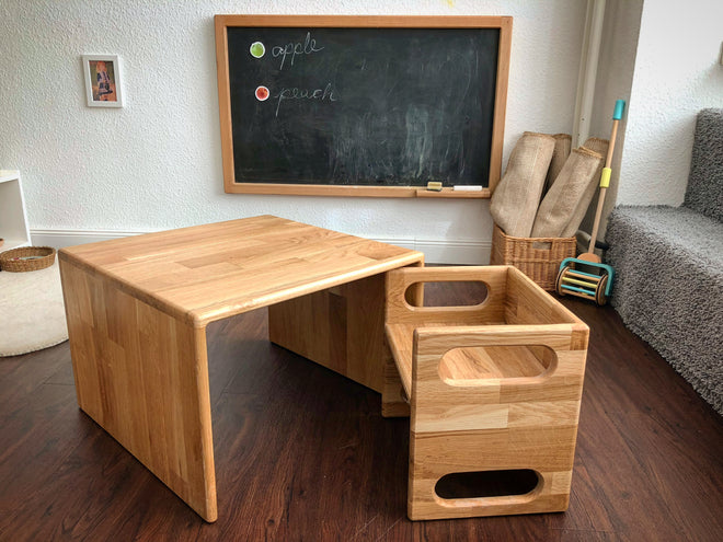 Montessori Cube Table+Chairs