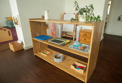 Montessori Toddler Shelf