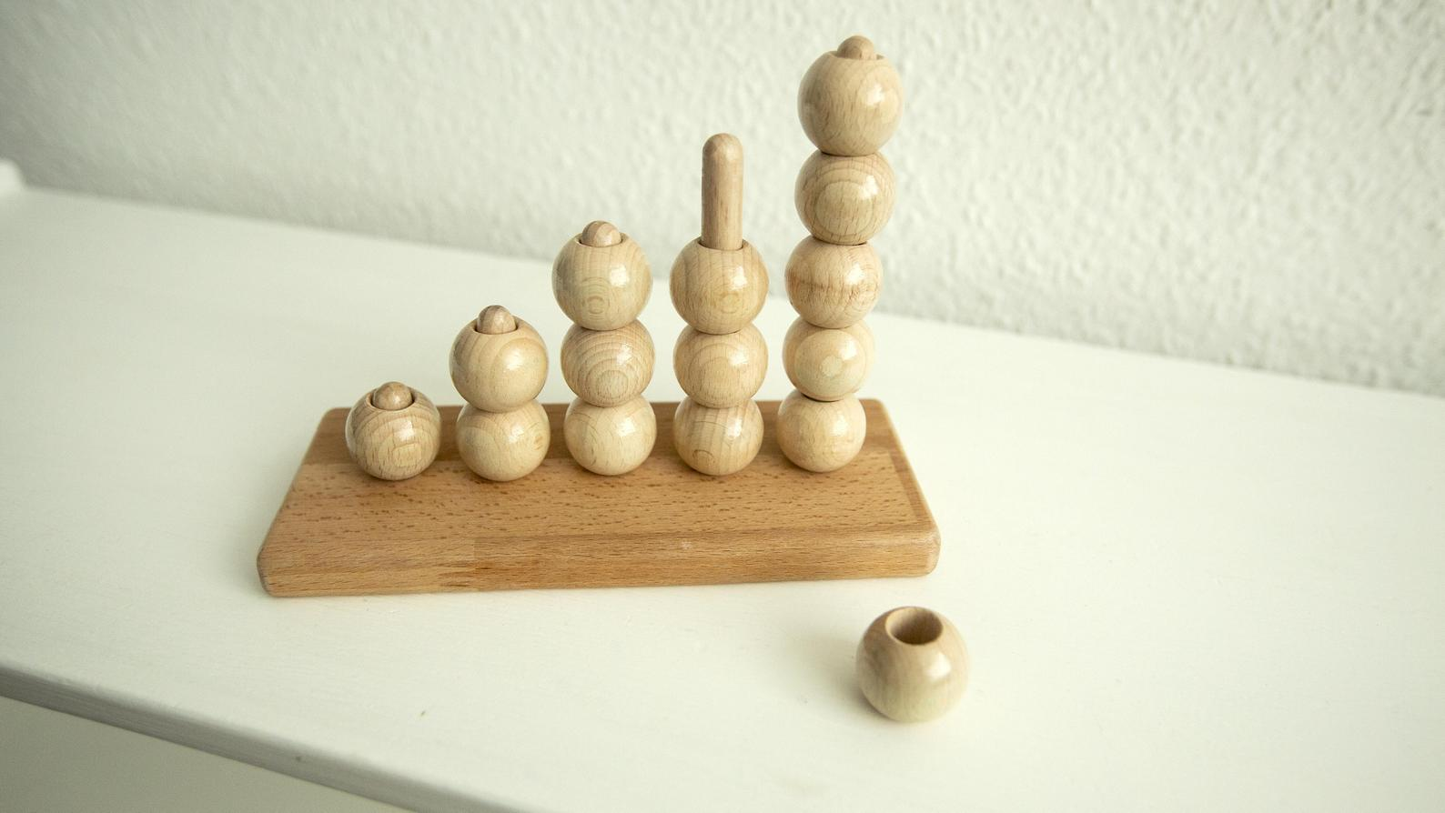 Wooden Counting Beads