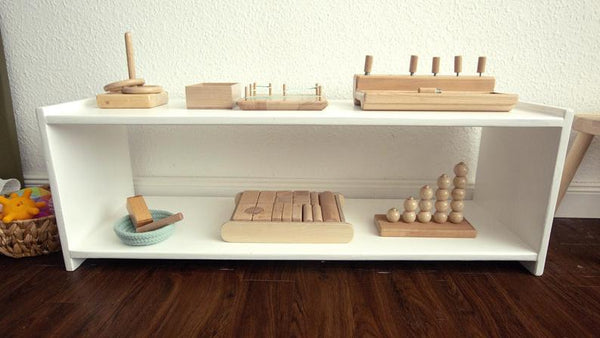 Montessori Newborn Shelf