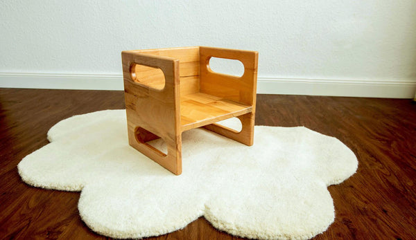 Montessori Cube Chair/Weaning Chair