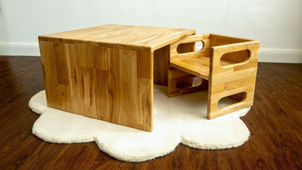 Montessori Cube Table /Weaning Table