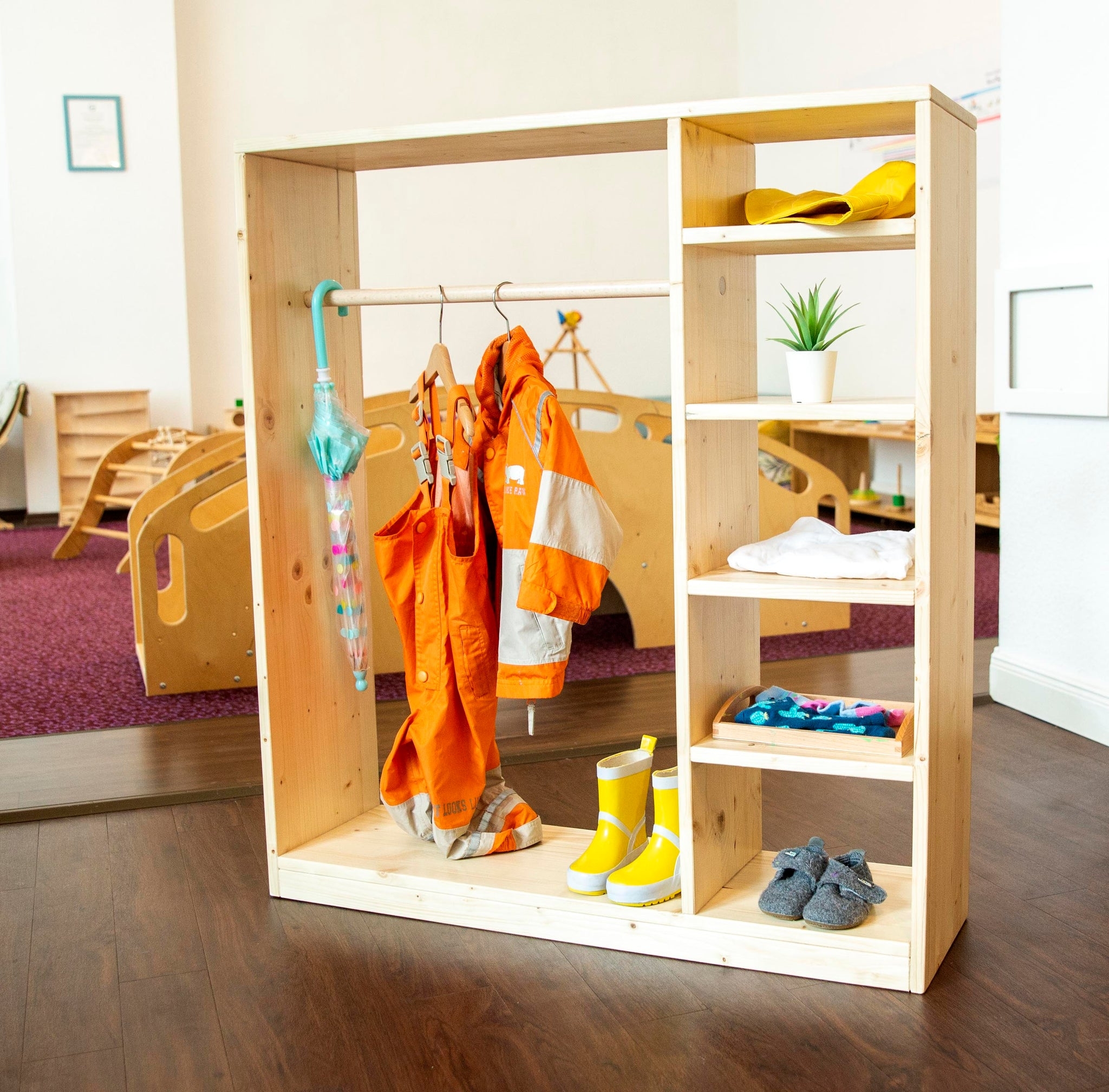 "Toddler Wardrobe ""Montessori Armadio"""