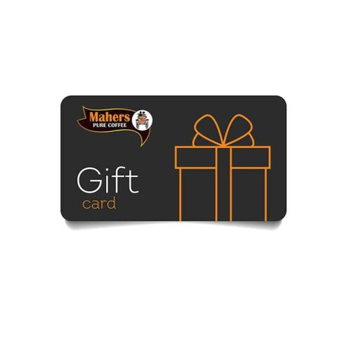 Mahers Coffee Gift Cards