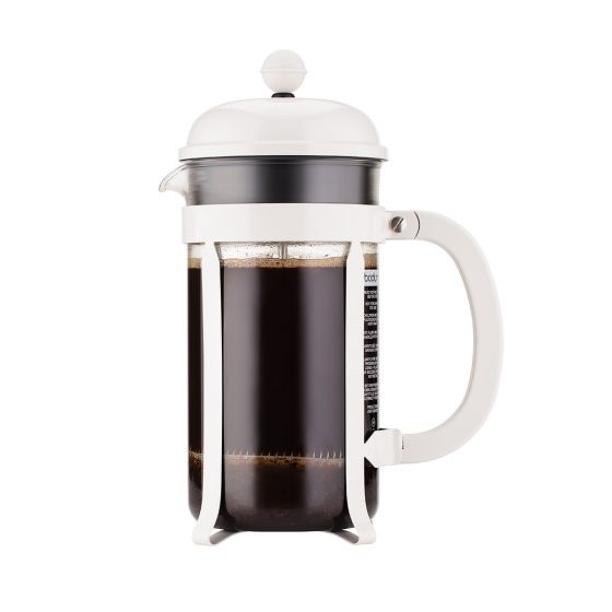 CHAMBORD® French Press Coffee Maker (White)