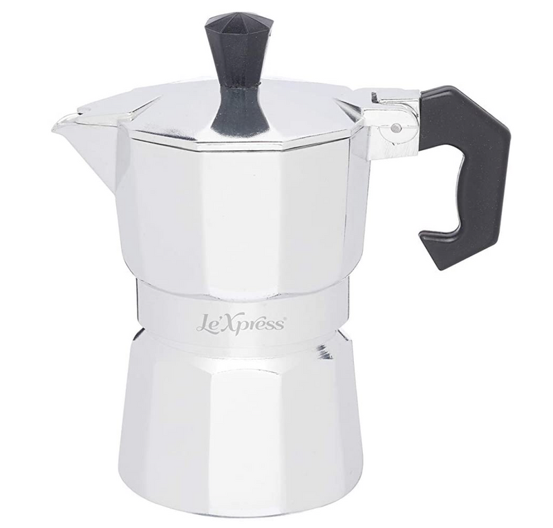 Le'Xpress Italian Style Espresso Maker (Multiple Sizes)