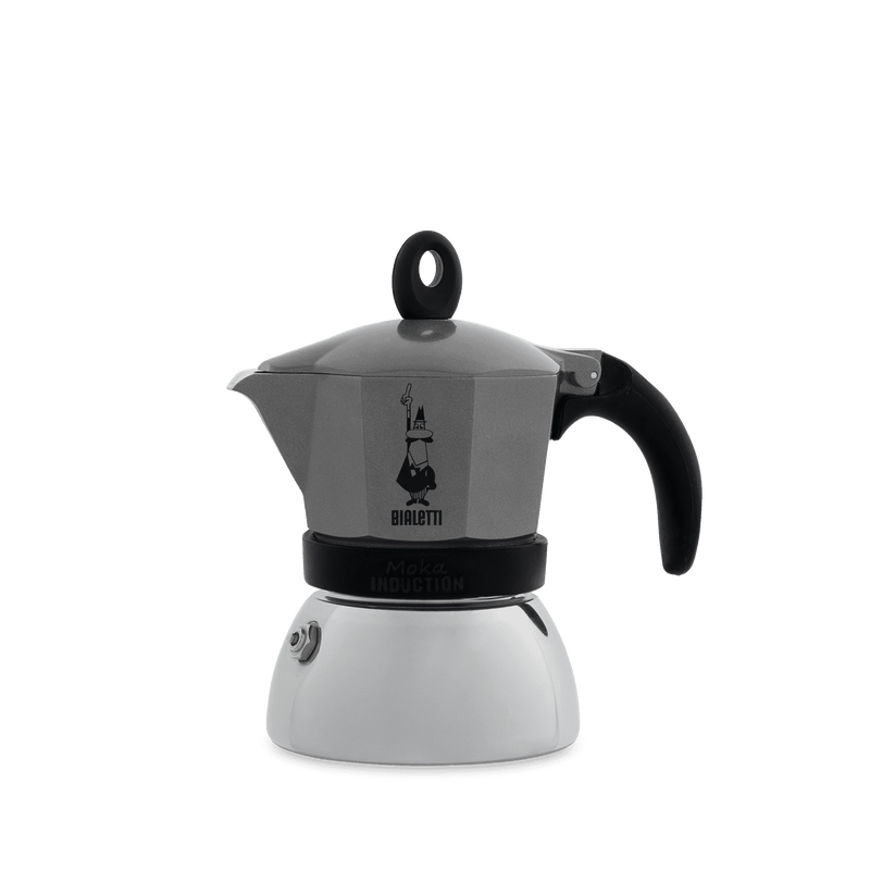 BIALETTI Moka Induction - Grey (Multiple Sizes)
