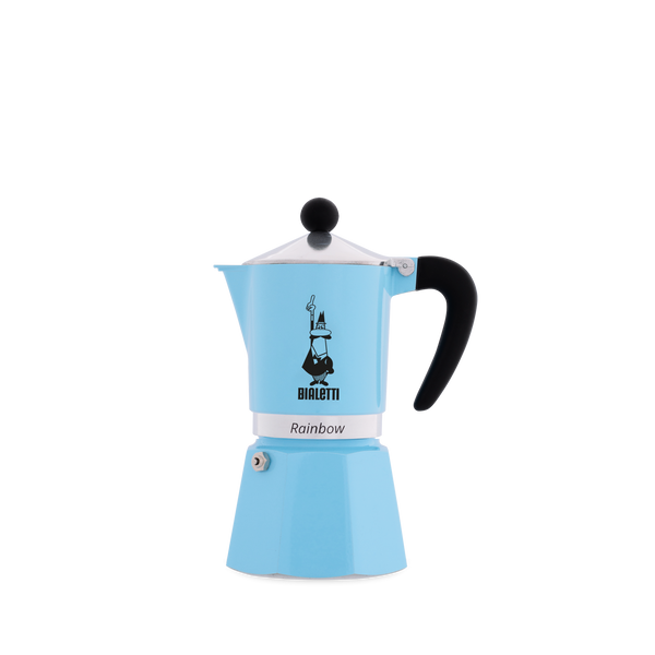 BIALETTI Rainbow Aluminium - Blue (Multiple Sizes)