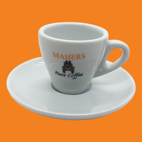 Mahers Cups & Saucers (Multiple Sizes)