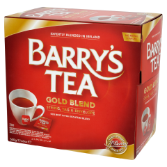 Barrys Gold Blend String and Tag teabags (200)