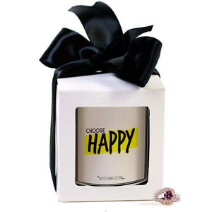 Choose Happy | Quote Candles®-The Official Website of Jewelry Candles - Find Jewelry In Candles!