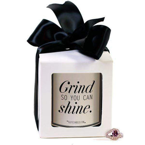 Grind So You Can Shine | Quote Candles®-The Official Website of Jewelry Candles - Find Jewelry In Candles!