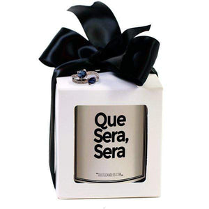 Que Sera, Sera | Quote Candles®-The Official Website of Jewelry Candles - Find Jewelry In Candles!