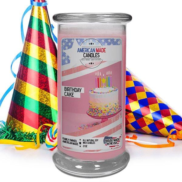 Birthday Cake American Made Candle-American Made Candles | Family Owned. American Made. Jewelry Candles-The Official Website of Jewelry Candles - Find Jewelry In Candles!