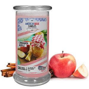 Cinnamon Apple | American Made Candle®-American Made Candles | Family Owned. American Made. Jewelry Candles-The Official Website of Jewelry Candles - Find Jewelry In Candles!