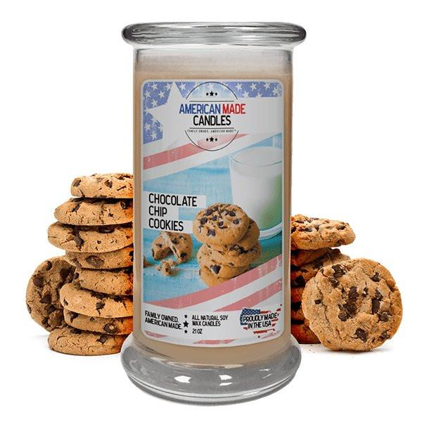 Chocolate Chip Cookies American Made Candle-American Made Candles | Family Owned. American Made. Jewelry Candles-The Official Website of Jewelry Candles - Find Jewelry In Candles!