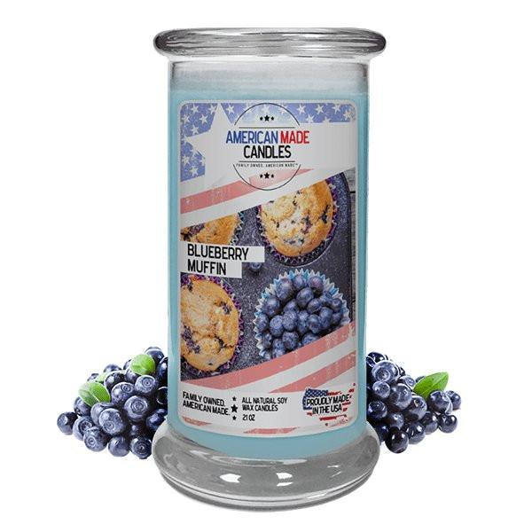 Blueberry Muffin American Made Candle-American Made Candles | Family Owned. American Made. Jewelry Candles-The Official Website of Jewelry Candles - Find Jewelry In Candles!