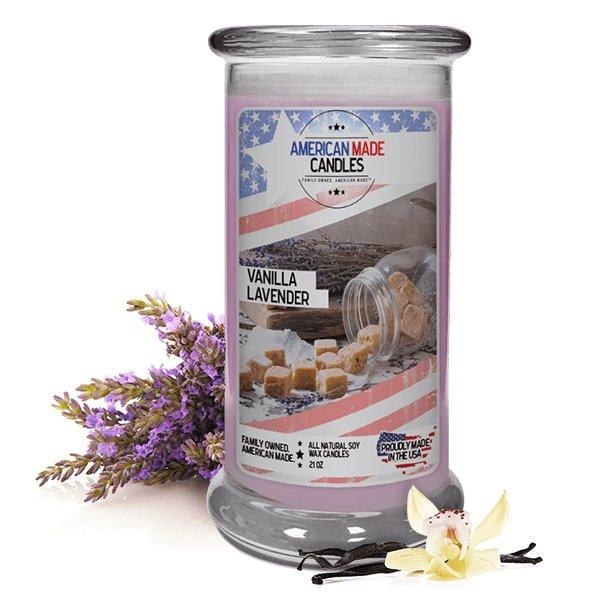 Vanilla Lavender American Made Candle-American Made Candles | Family Owned. American Made. Jewelry Candles-The Official Website of Jewelry Candles - Find Jewelry In Candles!