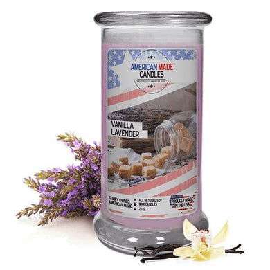 Vanilla Lavender | American Made Candle®-American Made Candles | Family Owned. American Made. Jewelry Candles-The Official Website of Jewelry Candles - Find Jewelry In Candles!