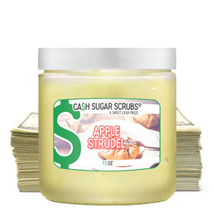 Apple Strudel | Cash Sugar Scrub®-Cash Sugar Scrubs-The Official Website of Jewelry Candles - Find Jewelry In Candles!