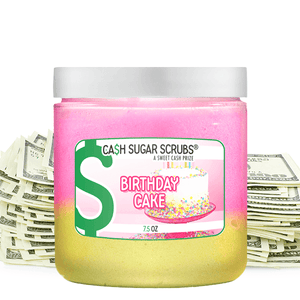 Birthday Cake | Cash Sugar Scrub®-Cash Sugar Scrubs-The Official Website of Jewelry Candles - Find Jewelry In Candles!