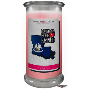 Louisiana | Born & Raised Candles-The Official Website of Jewelry Candles - Find Jewelry In Candles!