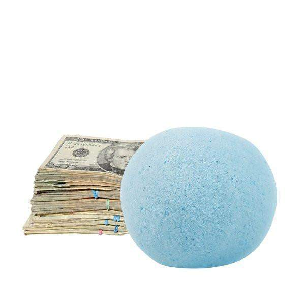 Romance Me Single Cash Bath Bomb-Cash Bath Bombs-The Official Website of Jewelry Candles - Find Jewelry In Candles!
