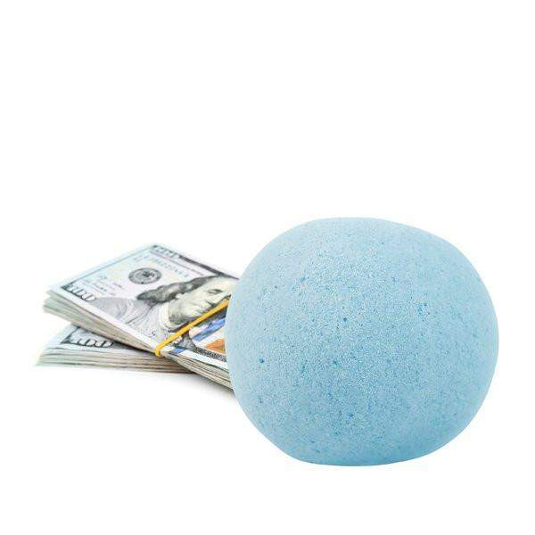Tiki Party Single Cash Bath Bomb-Cash Bath Bombs-The Official Website of Jewelry Candles - Find Jewelry In Candles!