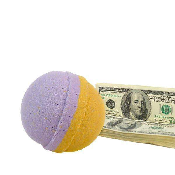 Beneath the Stars Single Cash Bath Bomb-Cash Bath Bombs-The Official Website of Jewelry Candles - Find Jewelry In Candles!