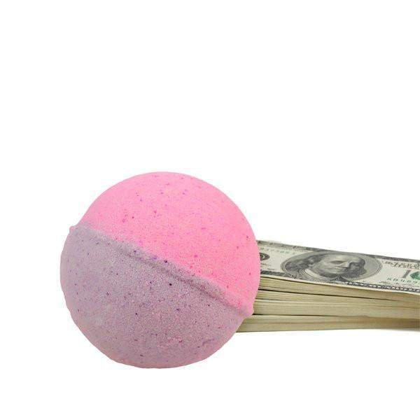 Bombshell Single Cash Bath Bomb-Cash Bath Bombs-The Official Website of Jewelry Candles - Find Jewelry In Candles!