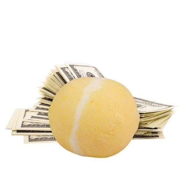 Sweet as Sugar Single Cash Bath Bomb-Cash Bath Bombs-The Official Website of Jewelry Candles - Find Jewelry In Candles!