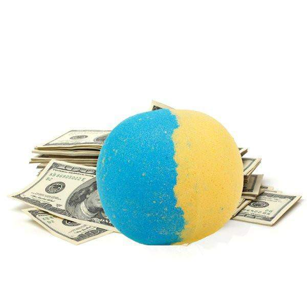 Seduction Single Cash Bath Bomb-Cash Bath Bombs-The Official Website of Jewelry Candles - Find Jewelry In Candles!