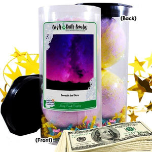 Beneath The Stars Cash Bath Bombs Tube-Cash Bath Bombs-The Official Website of Jewelry Candles - Find Jewelry In Candles!