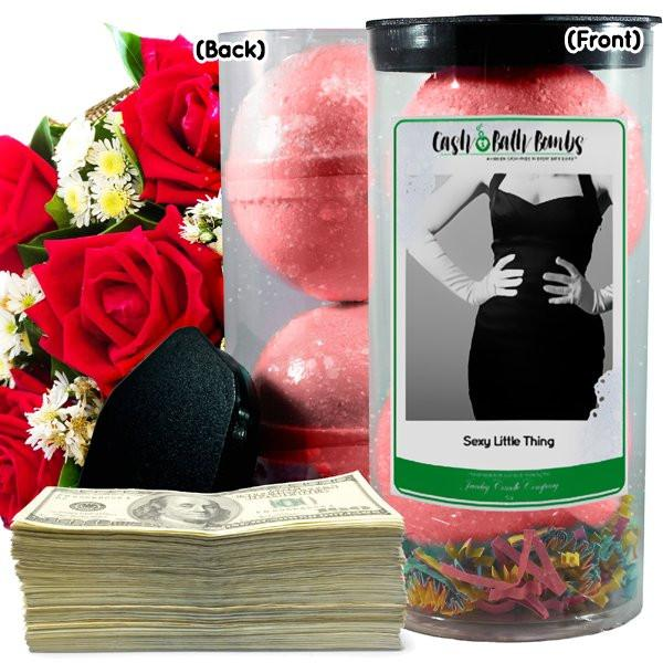 Sexy Little Thing Cash Bath Bombs-Cash Bath Bombs-The Official Website of Jewelry Candles - Find Jewelry In Candles!