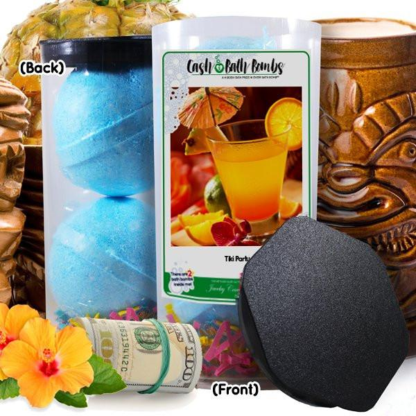 Tiki Party Cash Bath Bombs-Cash Bath Bombs-The Official Website of Jewelry Candles - Find Jewelry In Candles!