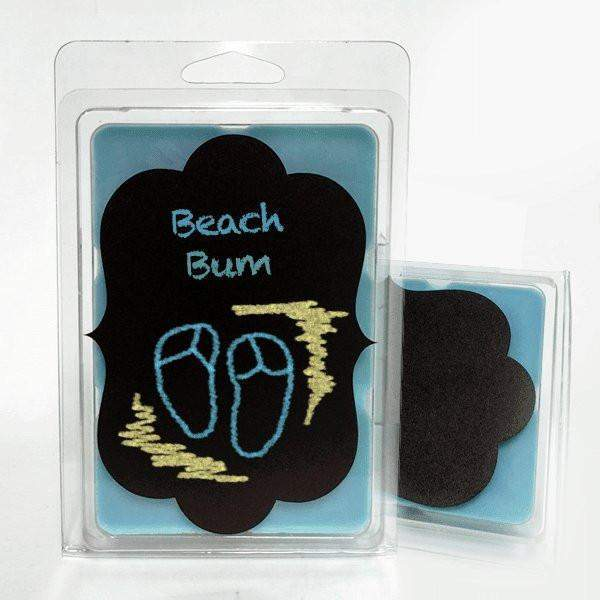 Beach Bum Chalkboard Tarts-Tarts-The Official Website of Jewelry Candles - Find Jewelry In Candles!